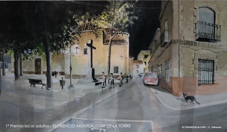 Diecinueve artistas se dan cita en el XII Concurso de Pintura Rápida Nocturna