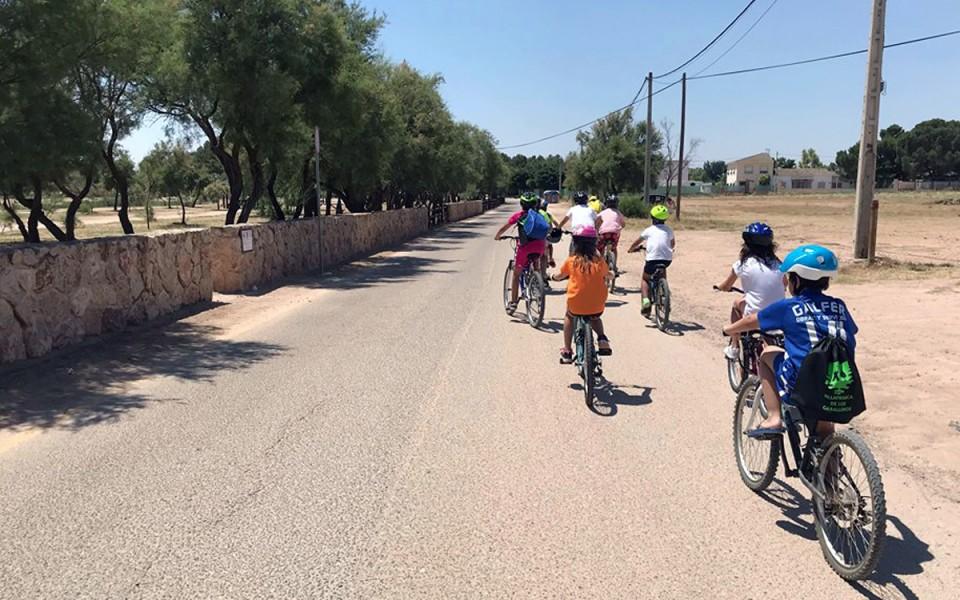 Cuarenta niños y niñas participan en la Semana Verde 2018 en Villafranca