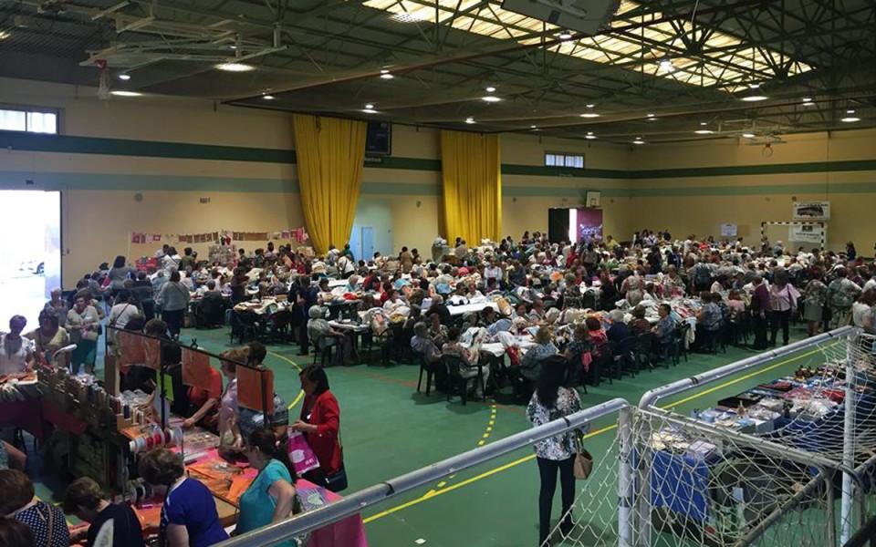 400 encajeras se dan cita en un nuevo encuentro en Villafranca