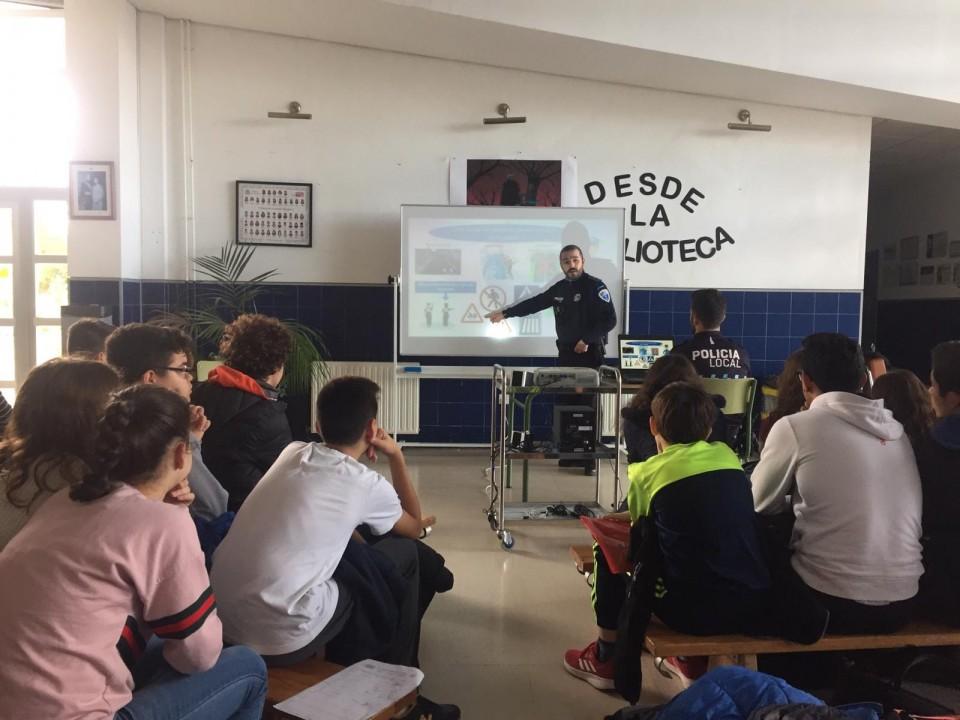 Proyecto escolar saludable: Jornadas de educación vial
