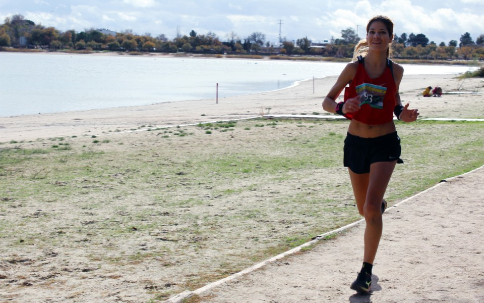 Abdelkader El Hamdi y Victoria García Vaquero ganan el V Trail Humedales Manchegos Lagunas de Villafranca