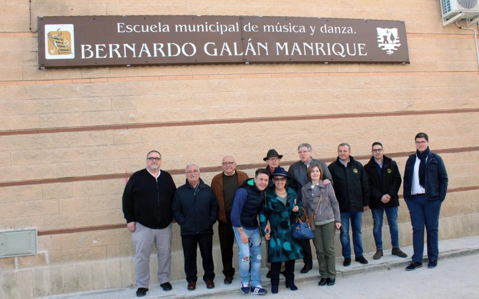 """Villafranca estrena su renovada """"Escuela de Música y Danza Bernardo Galán Manrique"""""""