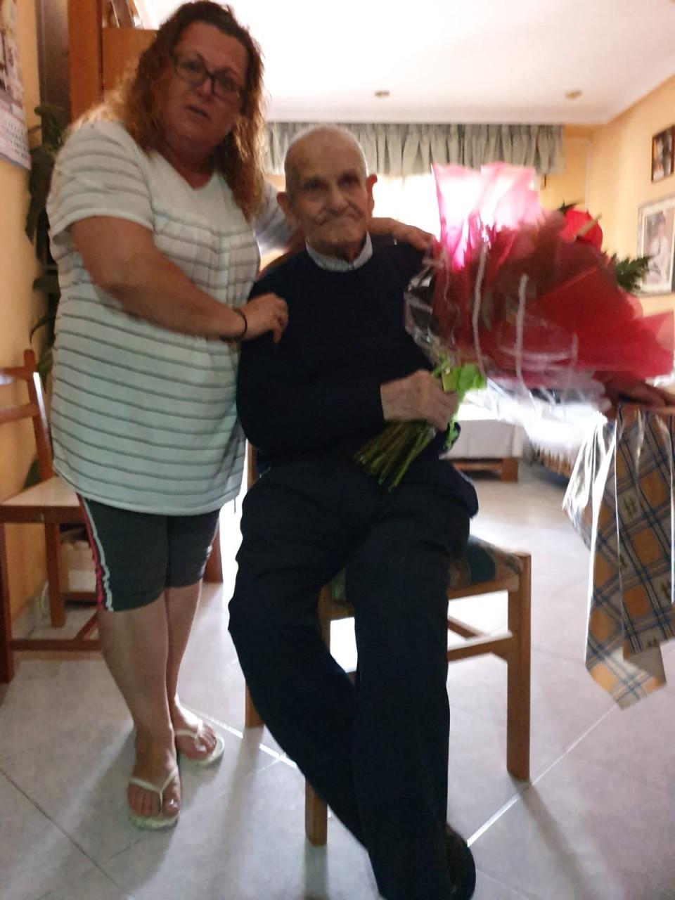 Villafranca rinde homenaje a sus mayores en la festividad del Día de los Abuel@s