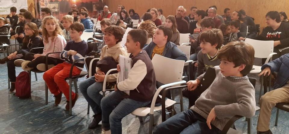 La concentración de Navidad culmina los 12 años de Nuestro Ajedrez en Europa
