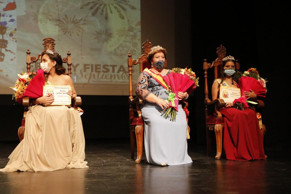Inauguración de la Feria y Fiestas en honor al Santo Cristo de Santa Ana